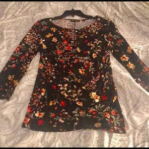 Lovely 3/4 sleeve tunic top